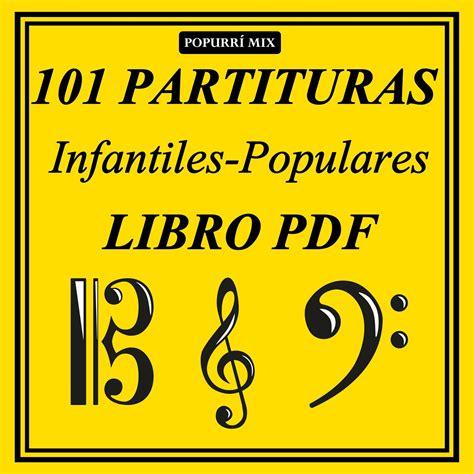 libro all in 101 real diegosax 101 partituras populares e infantiles libro pdf popurr 237 mix aprender m 250 sica con