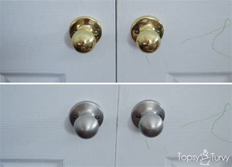 how to change out your door knobs ashlee marie