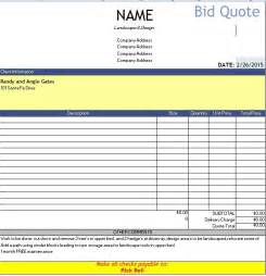Construction Quote Template Word by Quotation Templates Quote Templates