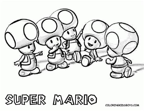 free coloring pages of mario characters az coloring pages