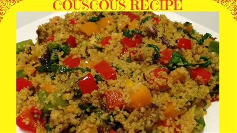 I How To Cook how to cook the couscous healthy couscous recipe