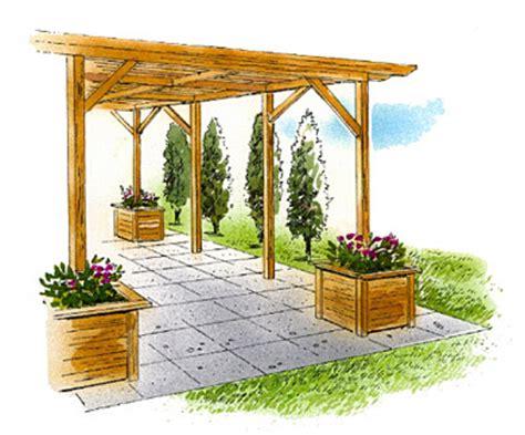 Pergola Planter by Pergola With Planters