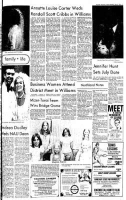 Arizona Daily Sun from Flagstaff, Arizona on June 15, 1974 ... Newspapers In Flagstaff Arizona
