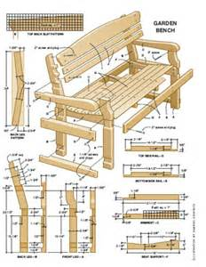 Pdf plans plans garden bench free download plans for wood tool chest
