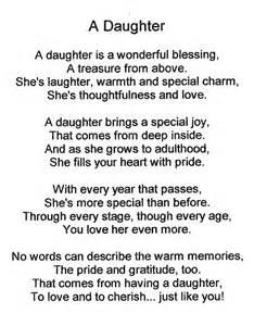 Daughter Poem Comments