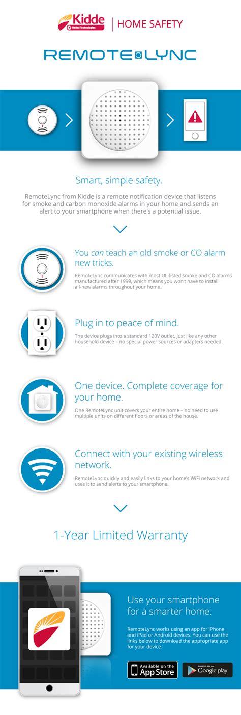 kidde remotelync home monitoring device 21026465 the