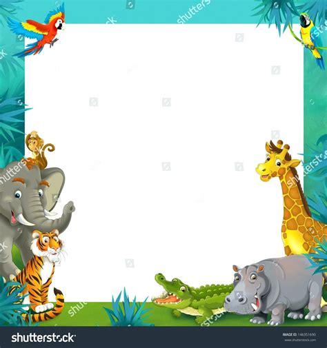 safari template template frame border template safari jungle
