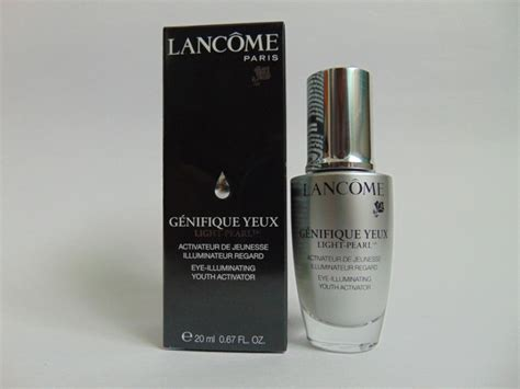 lancome advanced genifique light pearl lancome advanced g 233 nifique eye illuminating youth