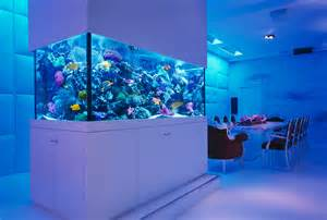 Ideas How To Beautify Your Home With Fish Tank   World inside pictures