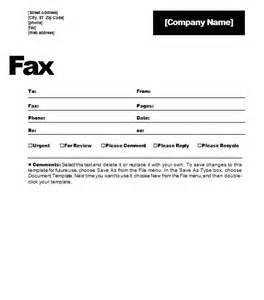 Fax cover sheet template which permits you to manage your current fax