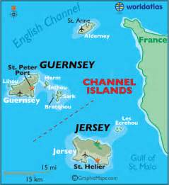 channel islands large color map