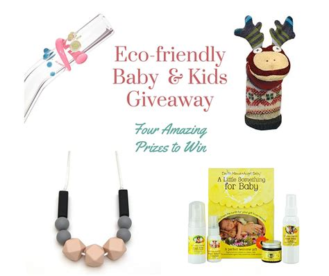 Eco Friendly Giveaway Ideas - ultimate eco baby and kids giveaway