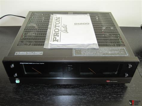 Proton D1200 by Proton D1200 Power Photo 332651 Canuck Audio Mart
