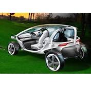 Mercedes Benz Vision Golf Cart  Diseno Art