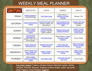 Click on the picture above or here weekly meal planner 11 4 10 11