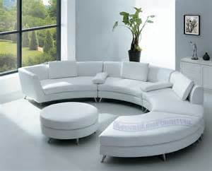 Furniture new tiger fabric over white leather modern sectional sofa