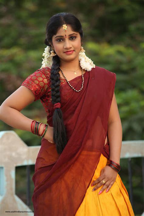 telugu photos in telugu telugu actress gagana in half saree photos south indian