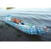 Kayak Made From Recycled Bottles Floats Down Argentinas Parana