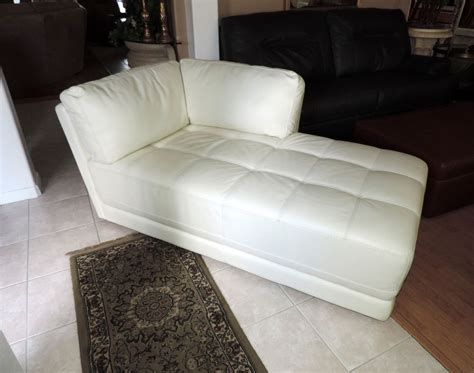 White Leather Chaise Lounge White Leather Chaise Lounge Www Imgkid The Image Kid Has It