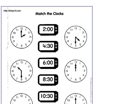 printable clock matching game all worksheets 187 clock matching worksheets printable