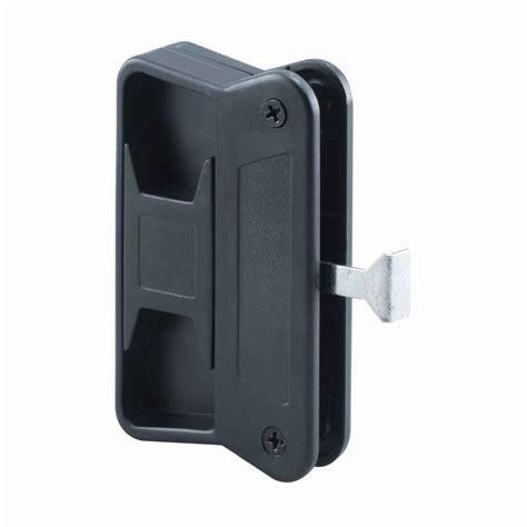 Home Depot Screen Door Handles prime line patio door handle set with wooden handle c 1204