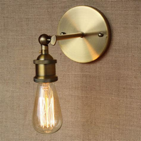 Discount Lighting by Loft L Discount Lighting Antique Gold Metal Wall L