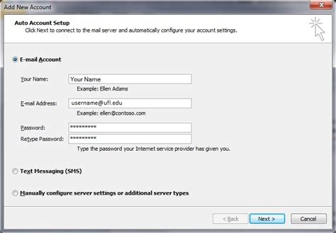 how to add email accounts to microsoft outlook email configuration for outlook 2010 187 mail documentation