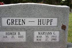 maryann green hupf 1941 1998 find a grave memorial