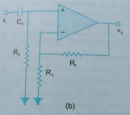 op dc blocking capacitor op why is a resistor added after the dc blocking capacitor of the op input