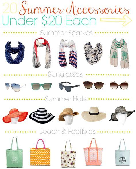 13 Fashion Accessories For Summer 20 summer fashion accessories 20