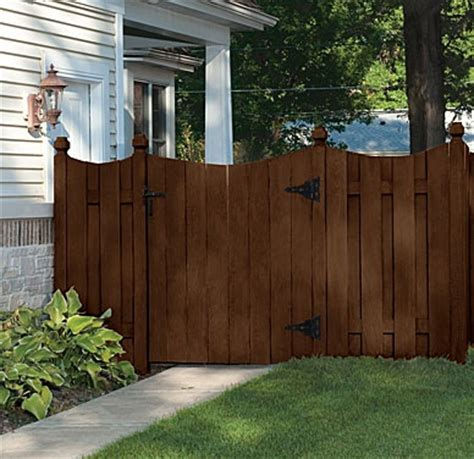 fence stain ideas  pinterest