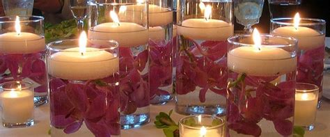 centrotavola con candele per matrimonio candele matrimonio decorazioni addobbi centrotavola
