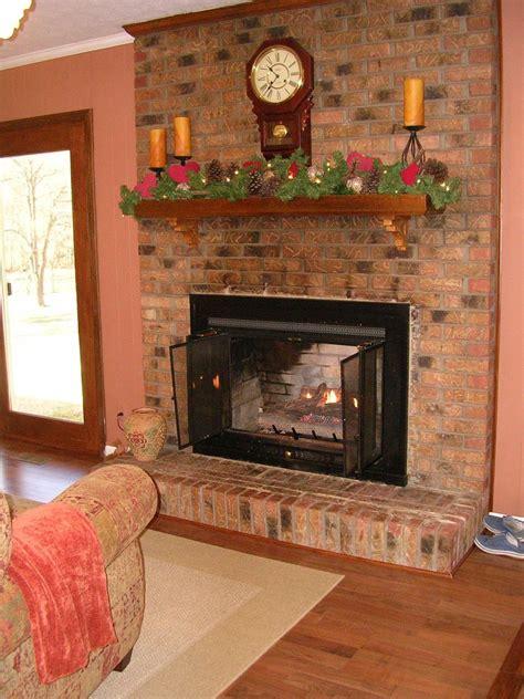 hometalk painted brick fireplace farmhouse inspiration
