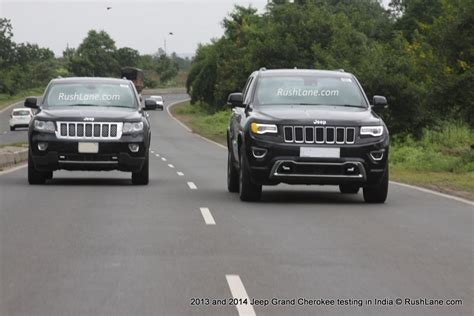 2013 Vs 2014 Jeep Grand 2013 And 2014 Jeep Grand