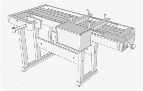 jig design enabled  sketchup finewoodworking