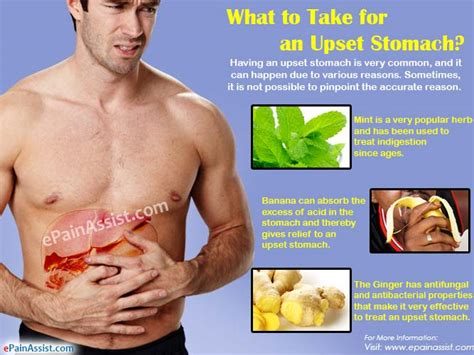 upset stomach what to take for an upset stomach