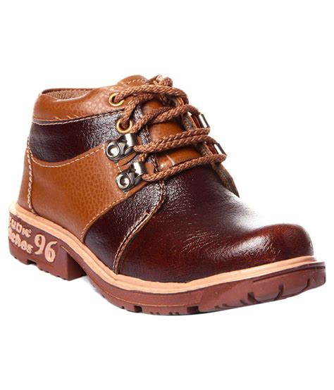 snapdeal boots trilokani brown boots price in india buy trilokani brown