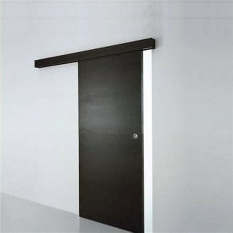 porta scorrevole porta scorrevole esterno muro noce weng 232 completa di