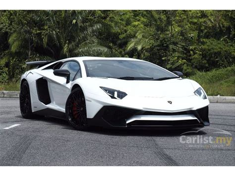 lamborghini aventador 6 5 sv lamborghini aventador 2016 lp 750 4 sv 6 5 in selangor automatic convertible white for rm