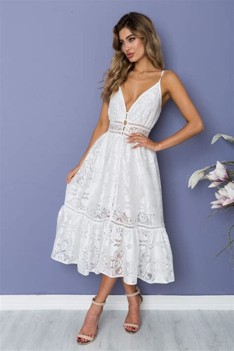 Dress Pricilia priscilla dress white lace dresses shop new
