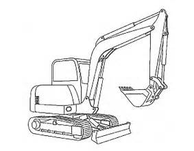 excavator coloring sheets pictures to pin on pinterest