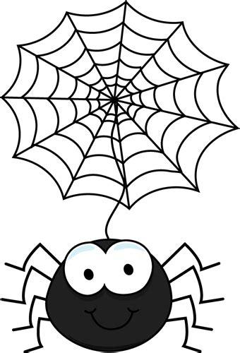free web clipart spider hanging from a web clip spider hanging from a