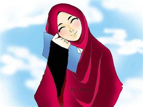 foto anime kartun berhijab 500 gambar kartun muslimah terbaru kualitas hd 2018
