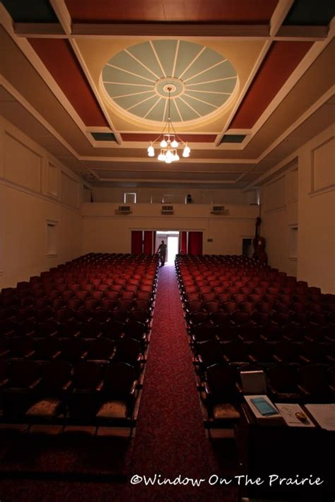 Waterville Opera House by Waterville Opera House Waterville Kansas 171 Window On The