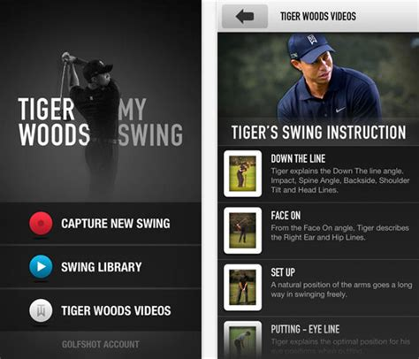 tiger woods swing app 5 of the best golf swing analyzer apps golfdashblog