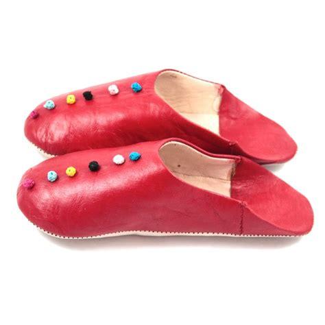 pom pom slippers pom pom slippers made of leather