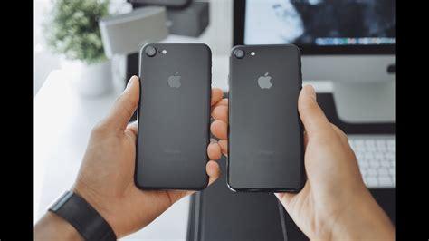 iphone  jet black unboxing jet black  matte black