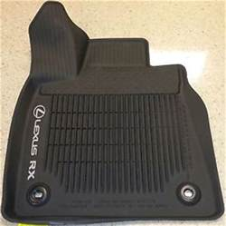 genuine lexus 2016 rx350 rx450h all weather floor liners