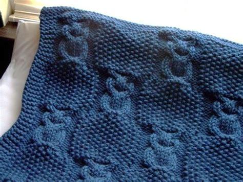 owl blanket knitting pattern lighting