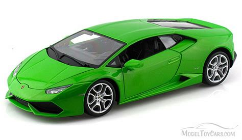 Lamborghini Model Cars Lamborghini Huracan Lp 610 4 Top Green Bburago